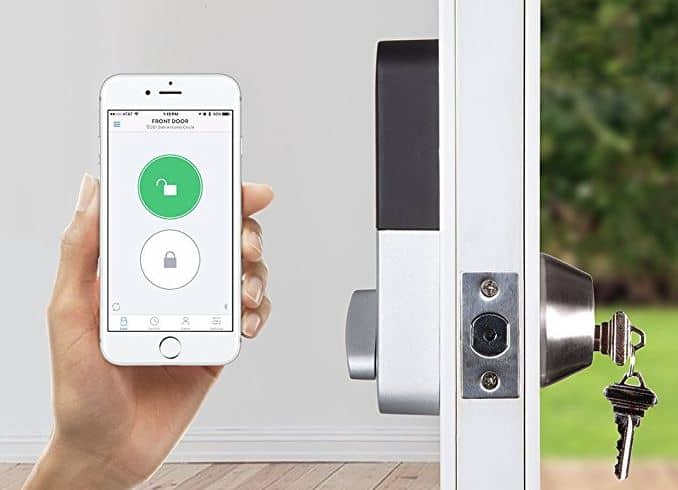 Lockitron smart home security system