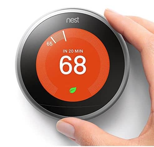 Nest learning smart home heating